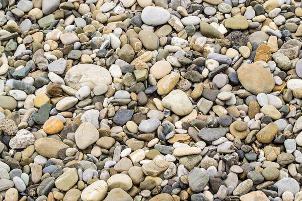 Photograph - Stone Pebbles Patterns by John Williams