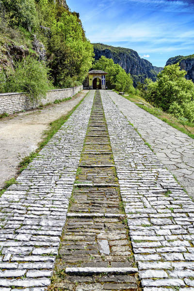 Photograph - Stone Road At Vikos Gorge, Zagori, Greece by Global Light Photography - Nicole Leffer