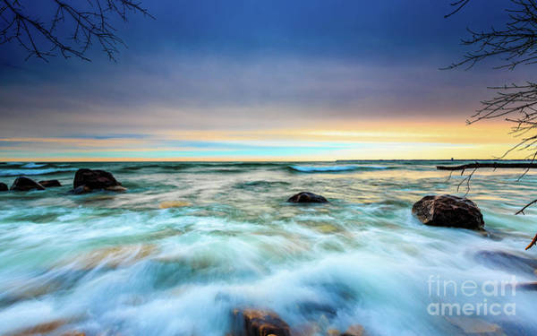Mke Photograph - Stone Rush by Andrew Slater