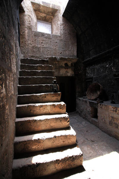 Photograph - Stone Stairs At Santa Catalina Monastery by Aidan Moran