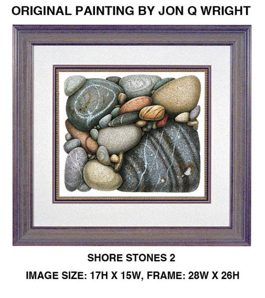 Wall Art - Painting - Stone Study by JQ Licensing