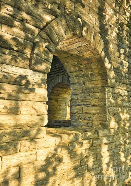 Photograph - Stone Walls At Cincinnati by Mel Steinhauer