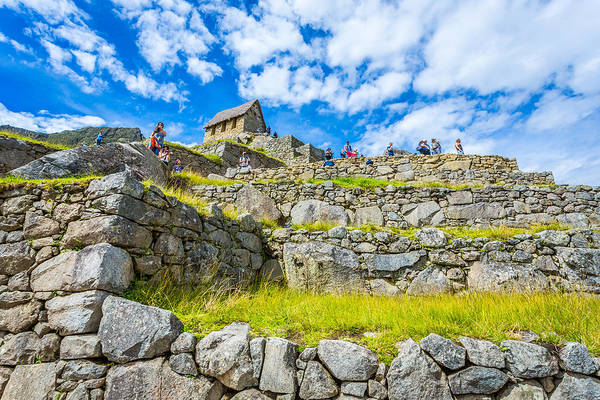 Photograph - Stone Walls by Gary Gillette