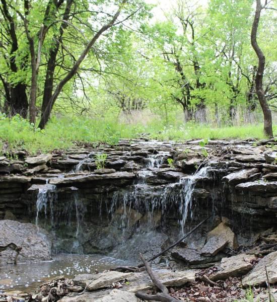 Wall Art - Photograph - Stone Waterfall by Weathered Wood