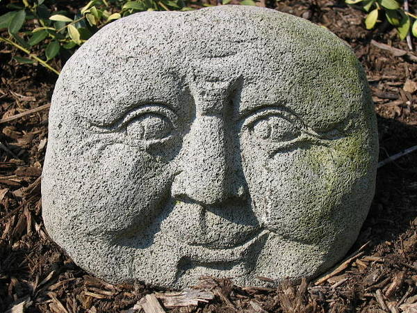 Photograph - Stoneface by Charles Kraus