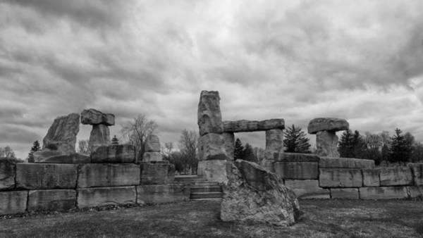 Photograph - Stonehenge Buffalo 4811b by Guy Whiteley