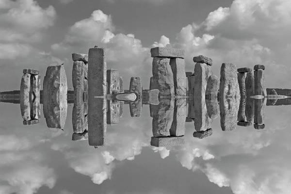 Wall Art - Photograph - Stonehenge Bw by Betsy Knapp