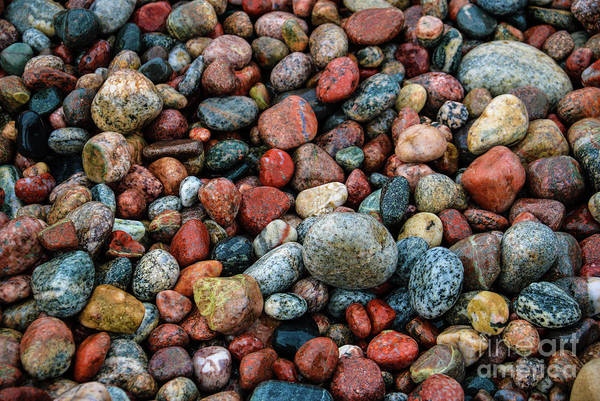 Photograph - Stones Of Lake Superior by Rachel Cohen
