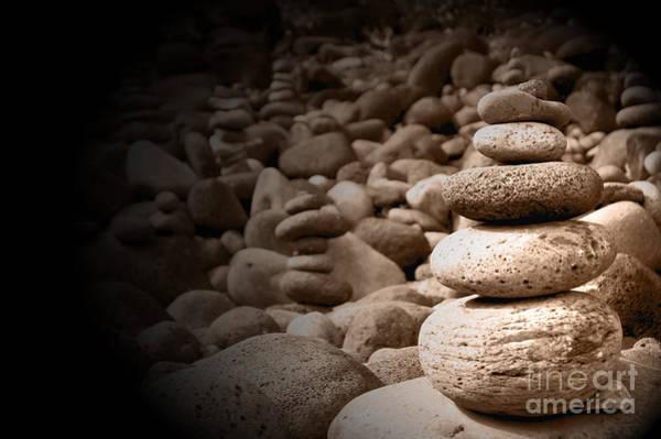 Wall Art - Photograph - Stones On Kauai Beach 5 by Micah May