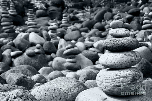 Wall Art - Photograph - Stones On Kauai Beach 6 by Micah May