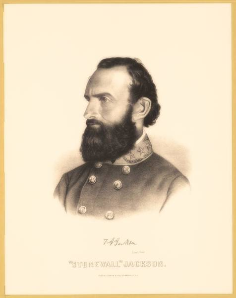 Stonewall Jackson Painting - Stonewall Jackson by Library Of Congress