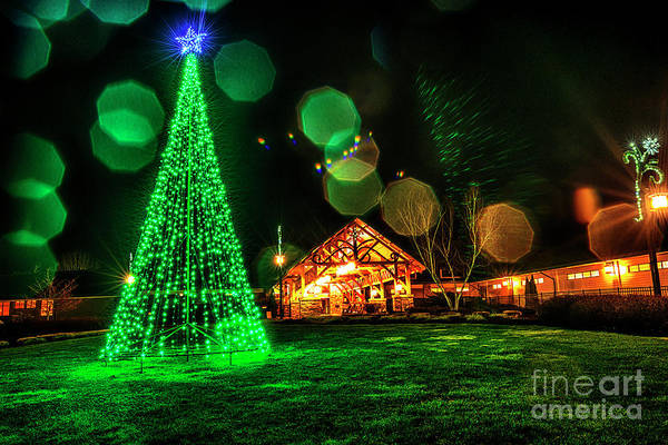 Photograph - Stonewall Resort At Christmas by Thomas R Fletcher