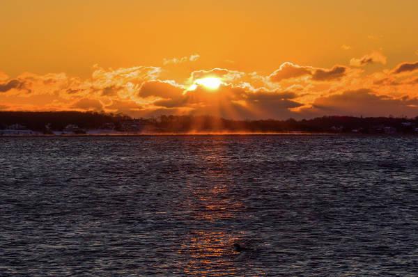 Photograph - Stonington Point Sunrise by Kirkodd Photography Of New England