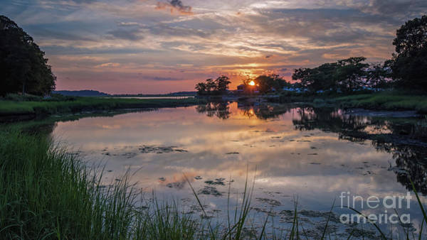 Photograph - Stony Brook Sunset On The Harbor by Alissa Beth Photography