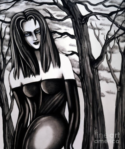 Painting - Who Do You Think You Are, Killing All My Trees by Valerie White