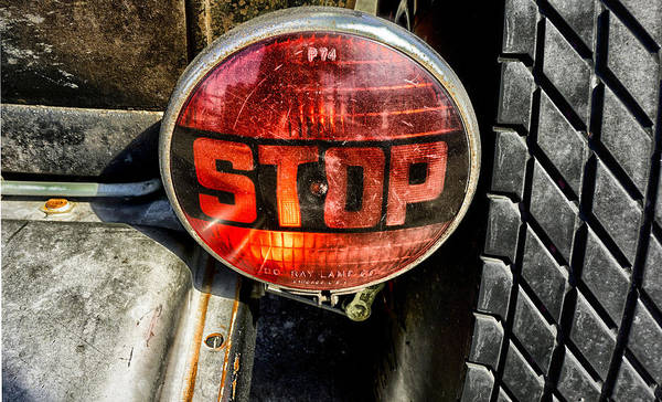 Photograph - Stop Light Classic by Michael Hope