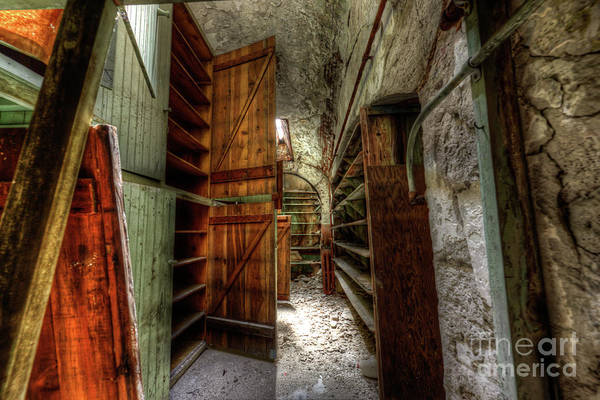 Photograph - Storage Area Eastern State Penitentiary by Anthony Sacco