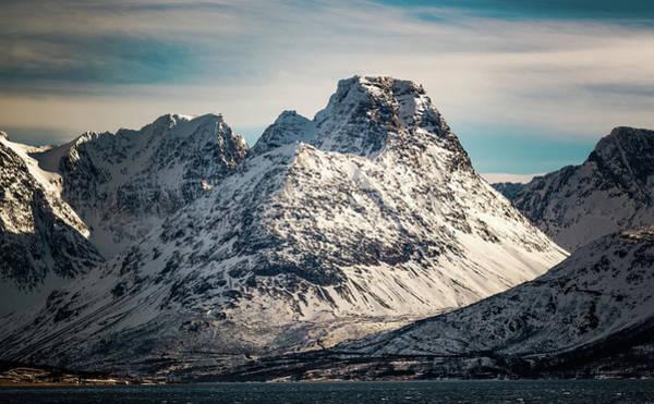 Photograph - Store Fornestinden Peak Troms Norway by Adam Rainoff