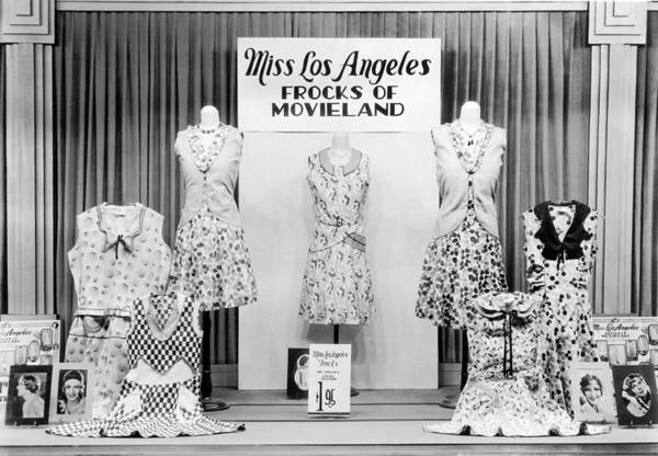 Mccormick Wall Art - Photograph - Store Window Fashion Display by Underwood Archives