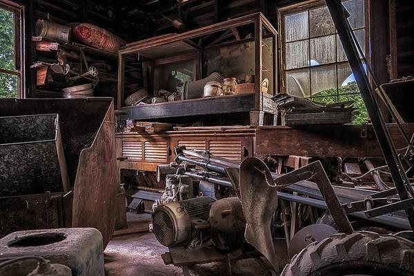 Photograph - Stored Junk by Robert FERD Frank