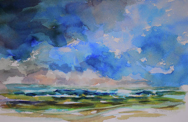 Painting - Storm A Comin by Julianne Felton
