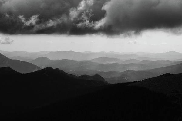 Photograph - Storm And Ridges by Marie Leslie