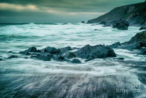 Photograph - Storm At Church Cove by David Lichtneker