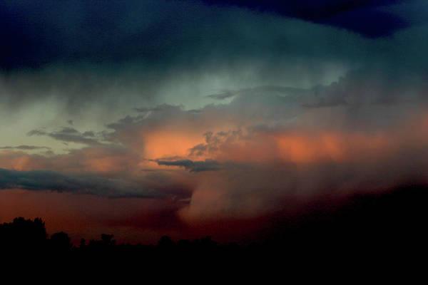 Photograph - Storm At Dusk 7223 H_2 by Steven Ward