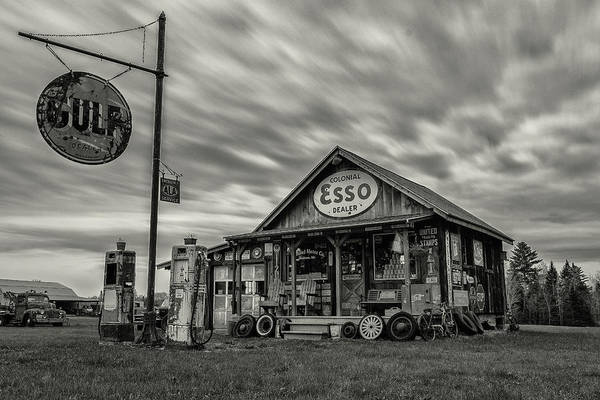 Photograph - Storm At Ferland Motor Company by Jesse MacDonald