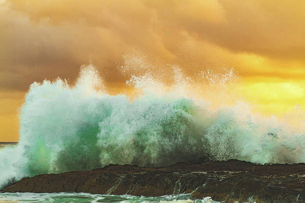 Wall Art - Photograph - Storm At Sea by Happy Home Artistry