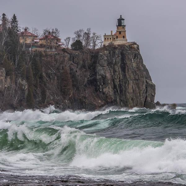 Wall Art - Photograph - Storm At Split Rock Lighthouse by Paul Freidlund