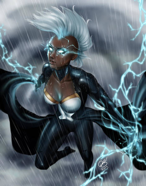 Drawing - Storm Chaser by Pete Tapang