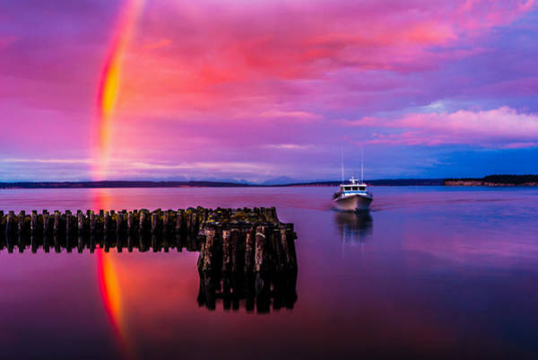 Port Townsend Photograph - Storm Chaser by TL  Mair