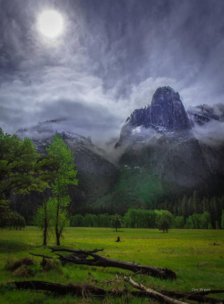 Photograph - Storm Clearing- Yosemite Valley by Tim Bryan