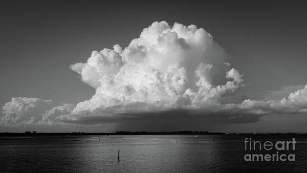 Wall Art - Photograph - Storm Cloud On The Horizon by Edward Fielding