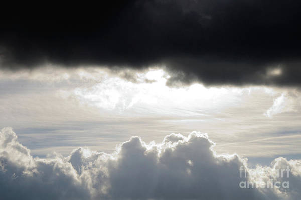 Photograph - Storm Clouds 3 by Andee Design