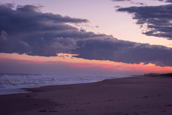 Photograph - Storm Clouds At Dusk Seaside Nj by Terry DeLuco