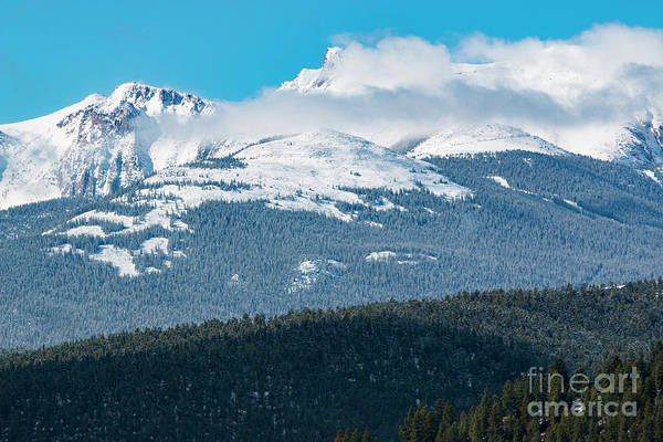 Photograph - Storm Clouds Building On Pikes Peak by Steve Krull