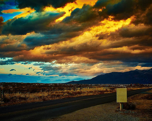 Photograph - Storm Clouds by Charles Muhle