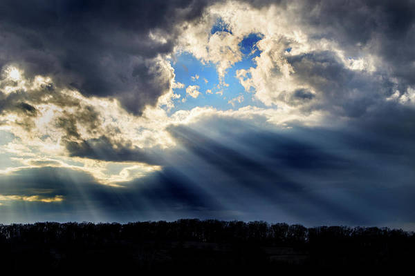 Photograph - Storm Clouds by Don Johnson