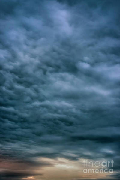 Photograph - Storm Clouds Eastern Sky by Thomas R Fletcher