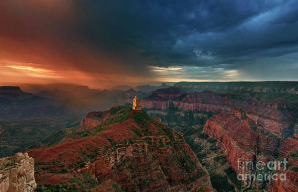 Photograph - Storm Clouds North Rim Grand Canyon Arizona by Dave Welling