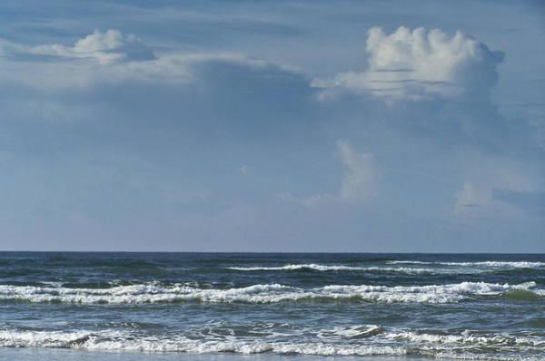 Wall Art - Photograph - Storm Clouds On The Horizon Ocean Isle North Carolina by Teresa Mucha