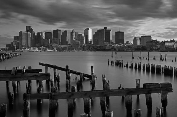 Photograph - Storm Clouds Over Boston by Juergen Roth