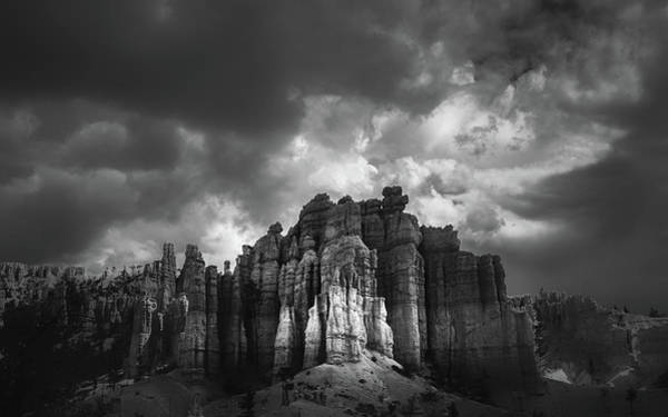 Wall Art - Photograph - Storm Clouds Over Bryce by Joseph Smith