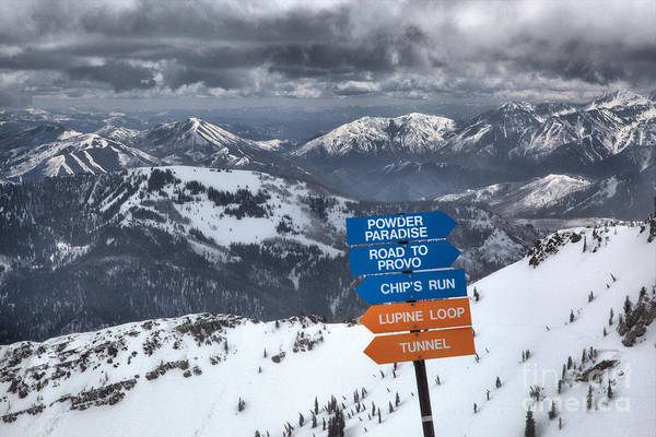 Photograph - Storm Clouds Over Mineral Basin by Adam Jewell