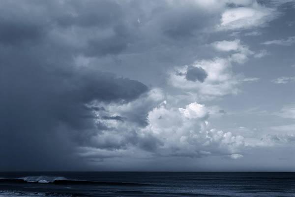 Photograph - Storm Clouds Over Ocean #2 by Paul Rebmann