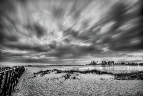 Wall Art - Photograph - Storm Clouds Over Orange Beach Pass by JC Findley