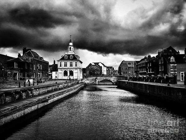 Kings Lynn Wall Art - Digital Art - Storm Clouds Over Purfleet Quay by John Edwards