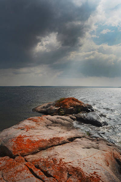 Photograph - Storm Clouds Over Wall Island by Steve Somerville